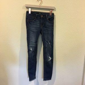 1822 Denim Jeans - 1822 Denim distressed skinny jeans
